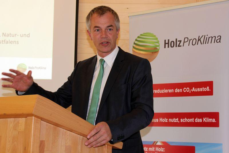 Johannes Remmel bei Holz Pro Klima