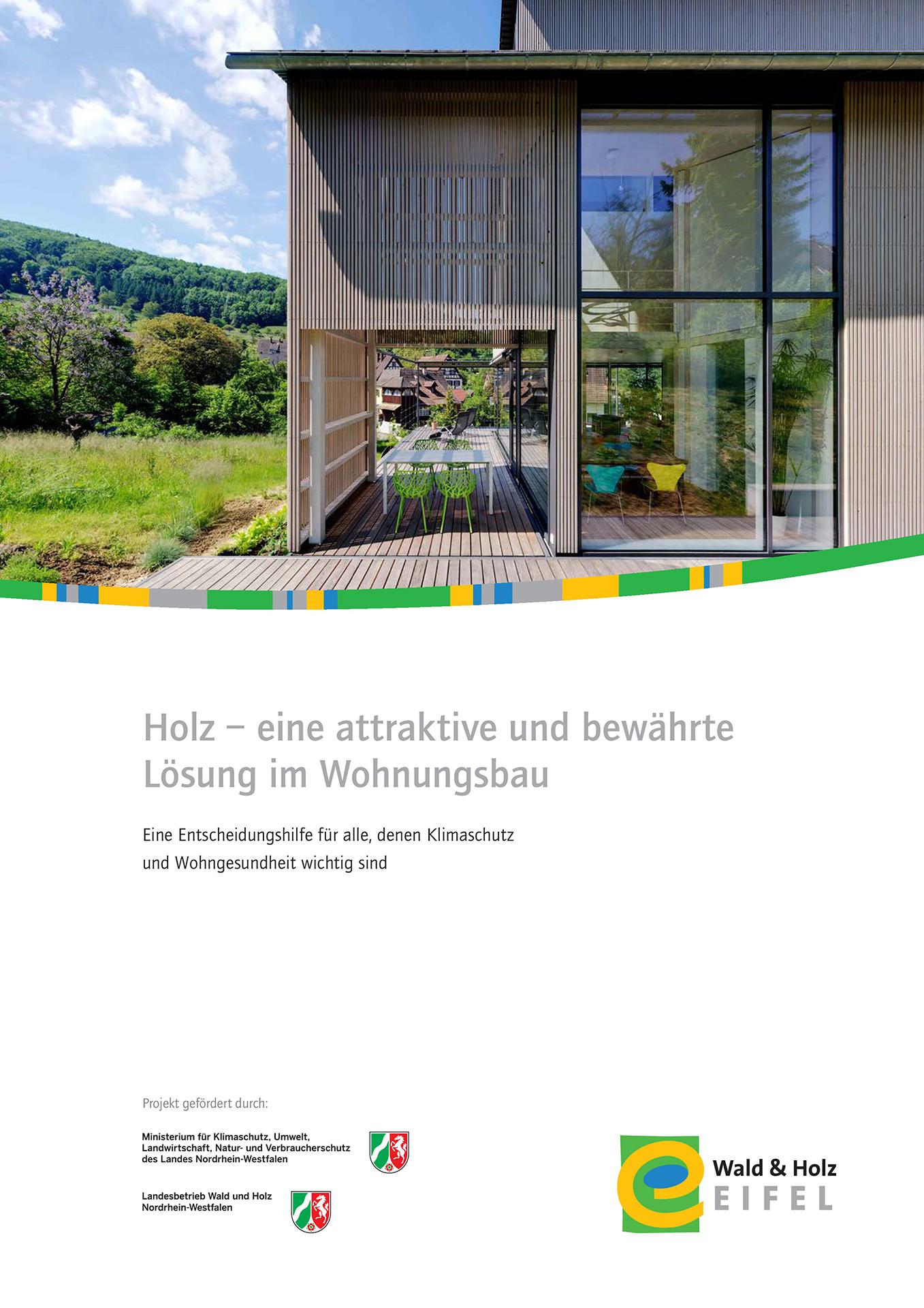 Holz - eine attraktive und bewährte Lösung im Wohnungsbau