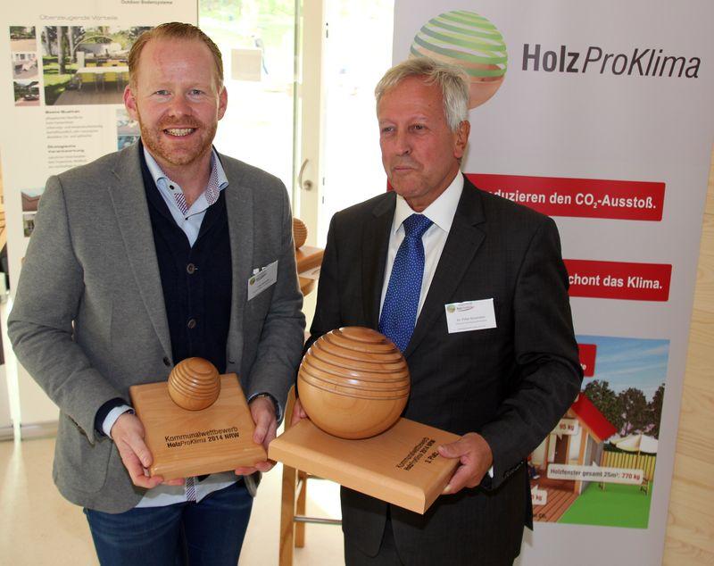 Veranstalter Lars Schmidt und Dr. Peter Sauerwein (v. l.)