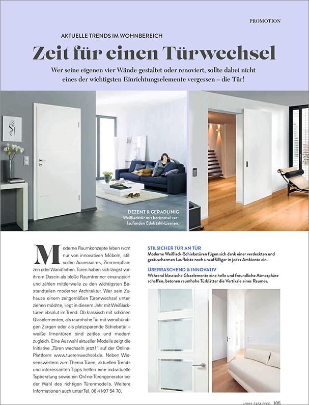 CASA DEKO 4-2015 Seite 105