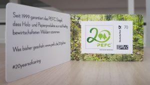 PEFC-70ct-Briefmarke