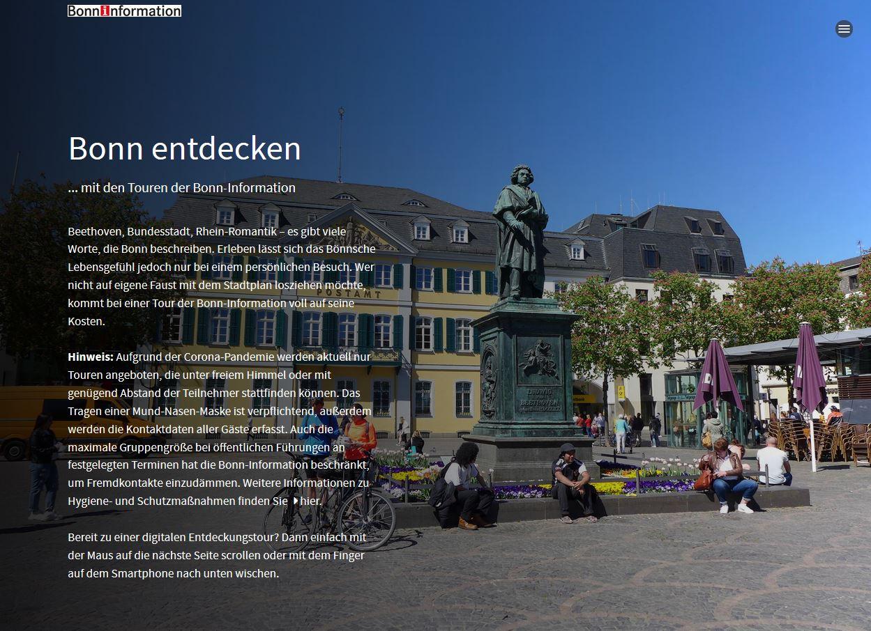 Virtueller Stadtrundgang durch Bonn