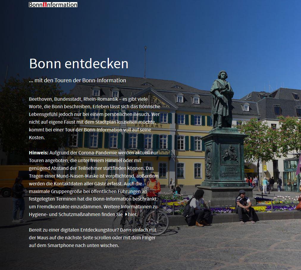 Bonn entdecken
